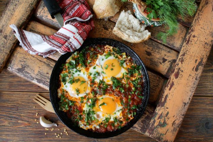 Iz domače kuhinje: Jajčka in še enkrat jajčka