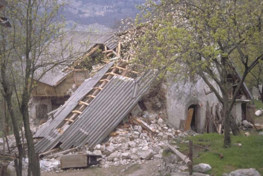Kako je bilo pa s potresi leta 1991?