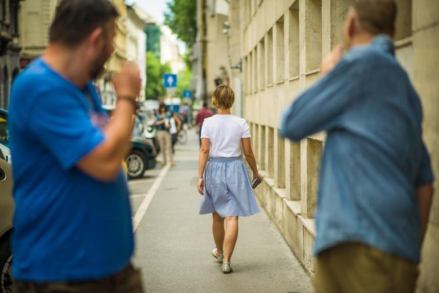 Sem res jaz kriva za ulično nadlegovanje?