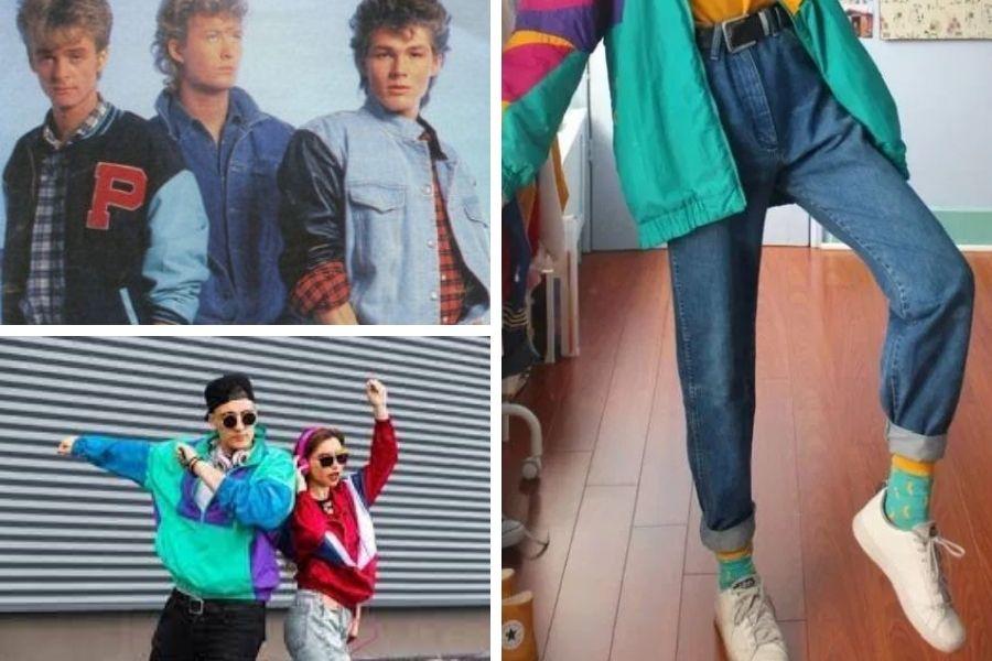 Moda  90-ih in legendarne trenerke.