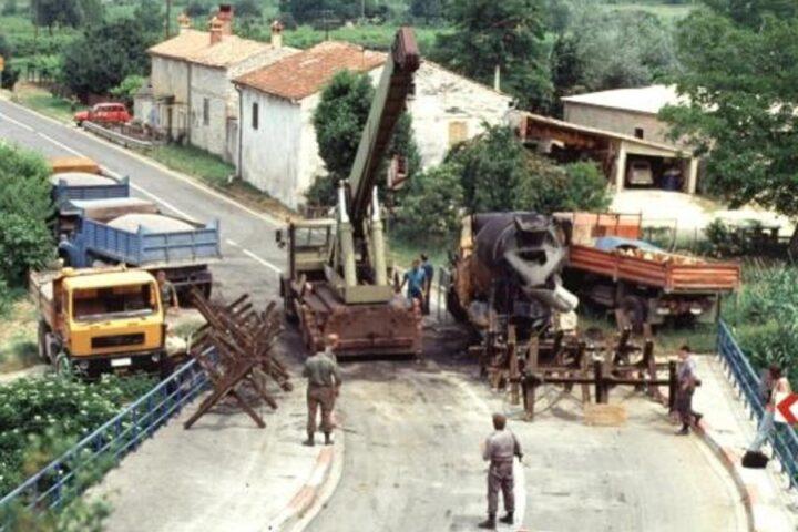 Prejeli smo: Med vojno za Slovenijo