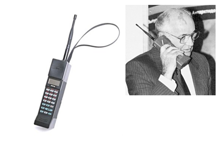 Nokia je leta 1982 podrla še en mejnik in trgu predstavila prvi ročni mobilni telefon – Mobira Cityman 900.