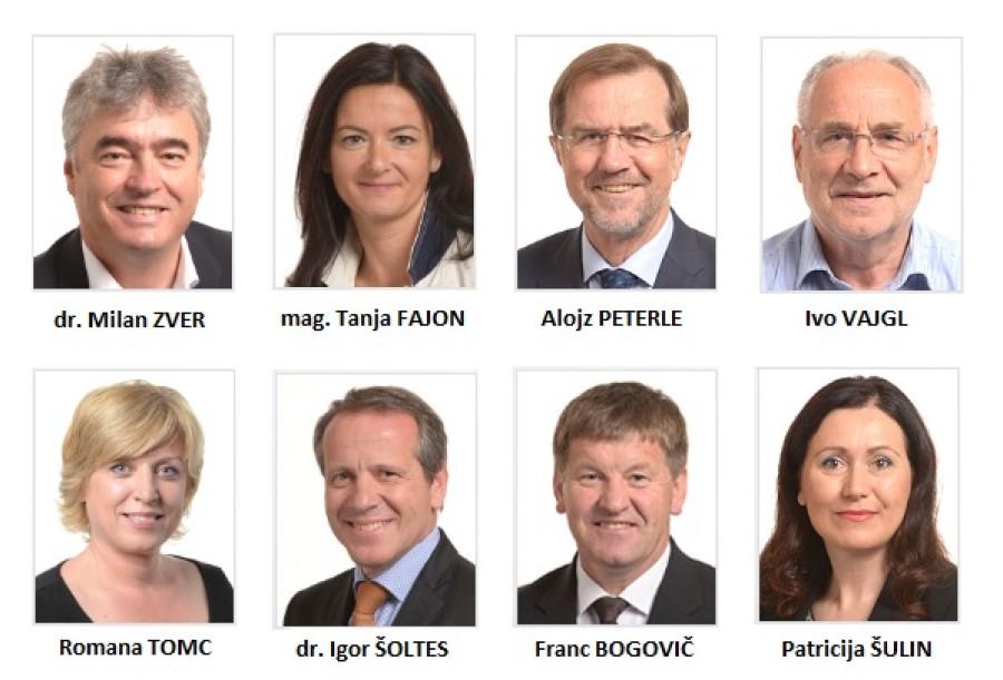 Slovenski evropski poslanci 2014-2019.
