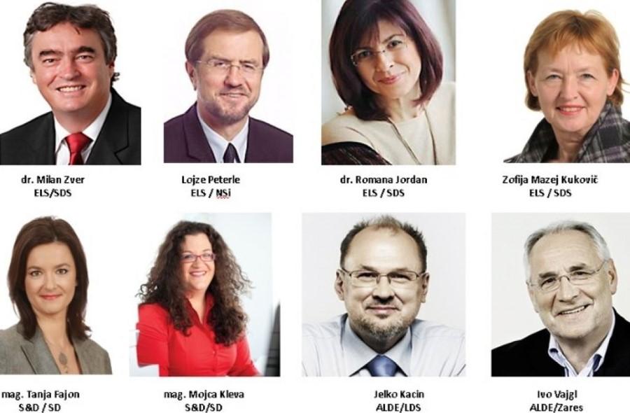 Slovenski evropski poslanci 2009-2014.