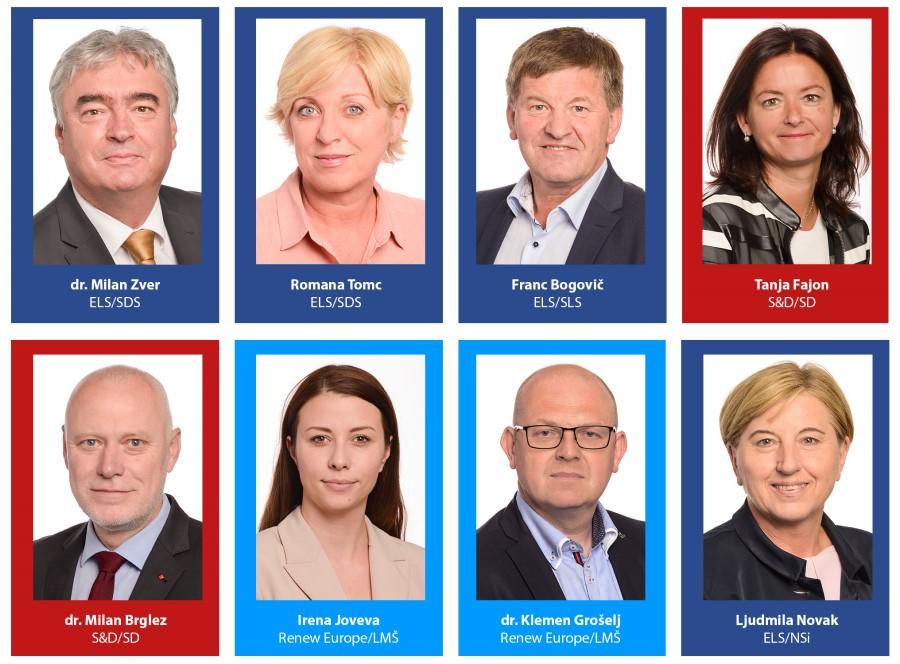 Slovenski evropski poslanci 2019-2024.