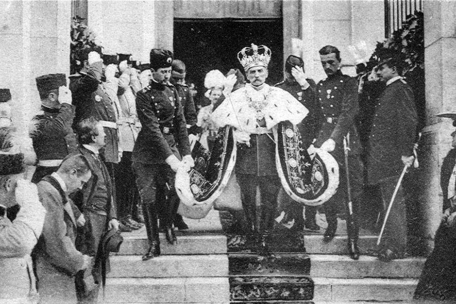 16. avgusta 1921 je umrl kralj Srbov, Hrvatov in Slovencev Peter I. Karađorđević. Vir slike: Royalfamily.org.