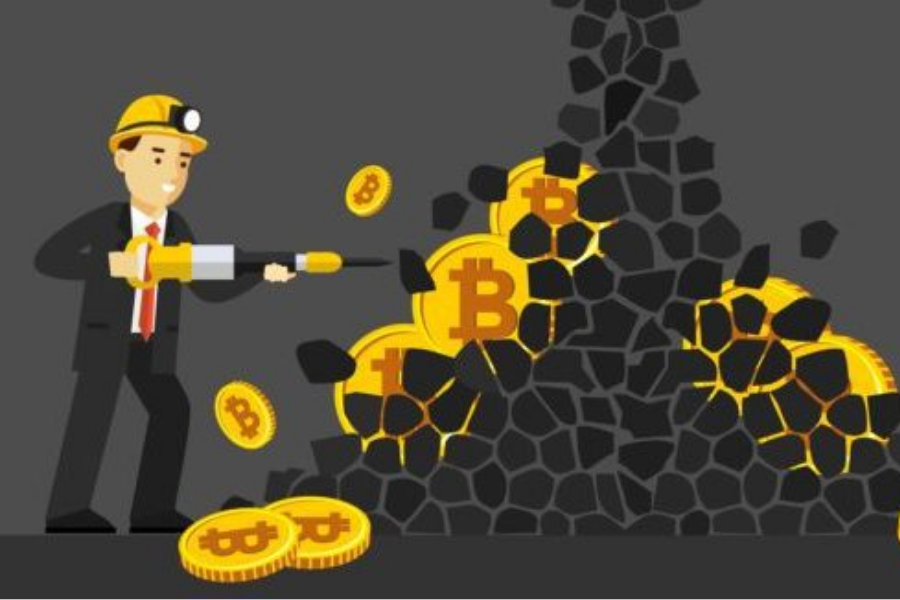 Procesiranje kripto transakcij ima veliko vzporednic z dejanskim rudarjenjem zlata in drugih kovin. Vir slike: Chainterra.com.