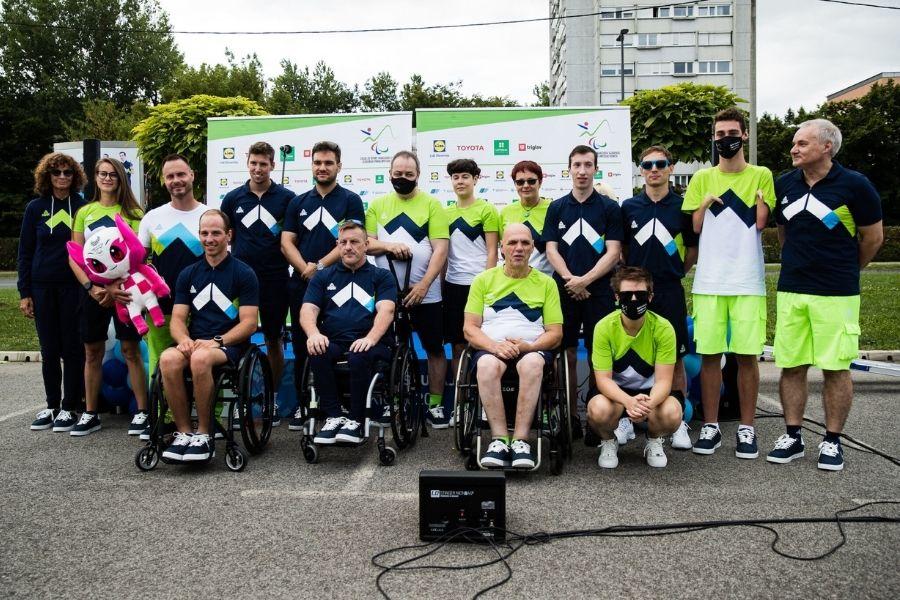 Igre v Tokiu se nadaljujejo – slovenska paralimpijska reprezentanca je pripravljena