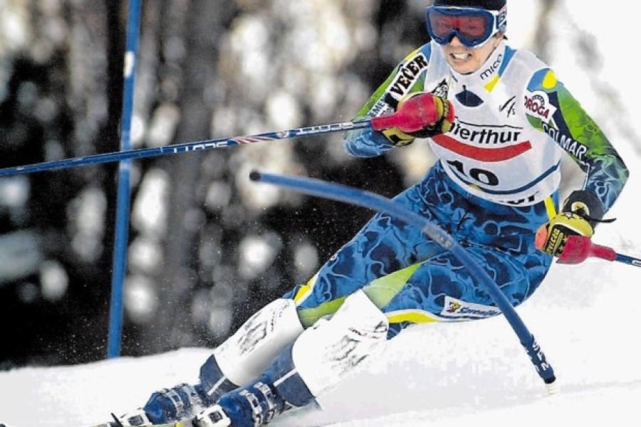 Nataša Bokal je prejela priznanje z drugim mestom v slalomu na svetovnem prvenstvu v Saalbachu.