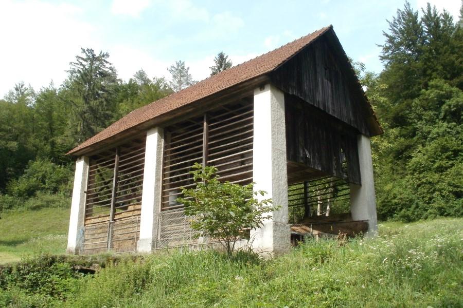 Ovčerejska kmetija Pr' Kafolu