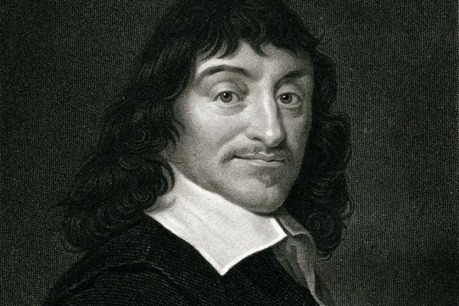 René Descartes je živel v 17. stoletju v Franciji.