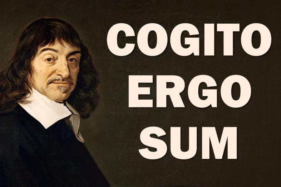 Cogito ergo sum (mislim, torej sem.)
