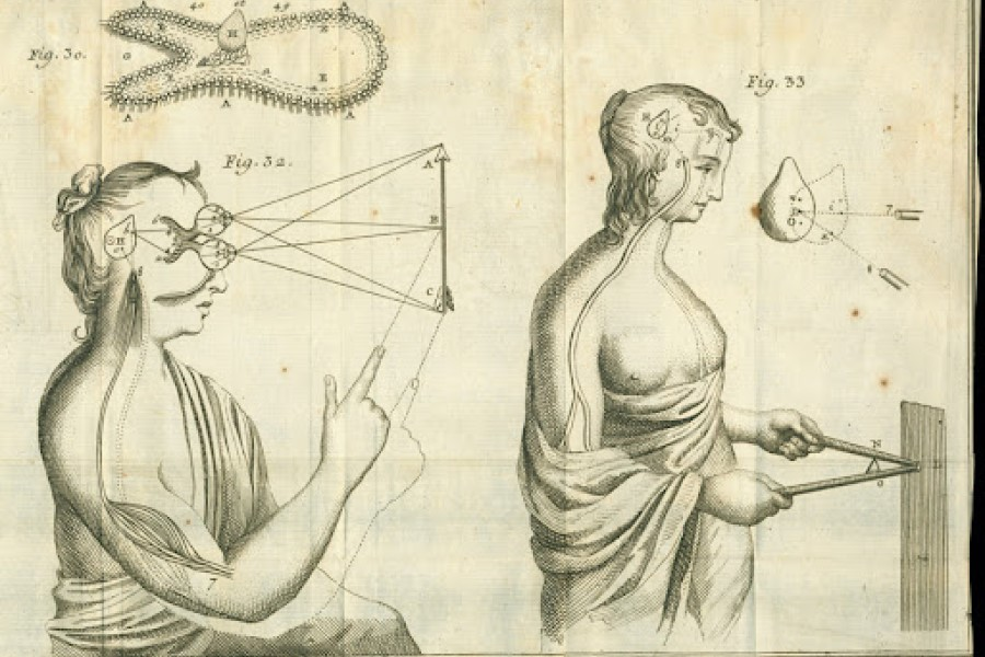 Descartes je bil tudi pomemben fizik in matematik.