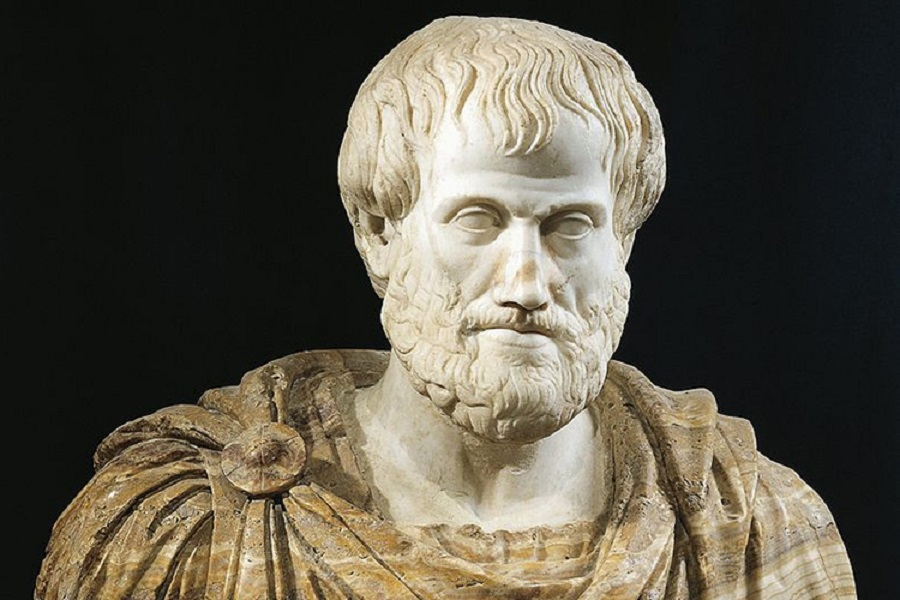 Doprsni kip Aristotla, 1. stoletje n.š. Vir slike: Getty Images.