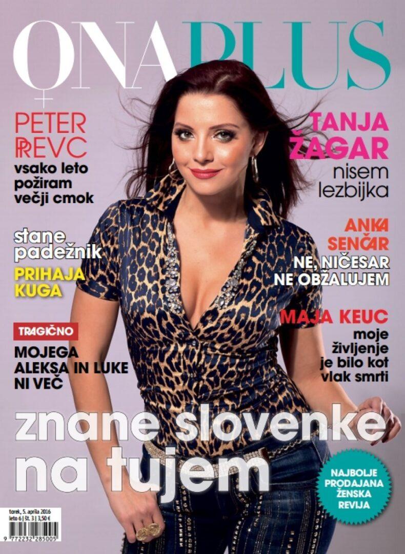Onaplus je med ženskimi revijami na prvem mestu po branosti.