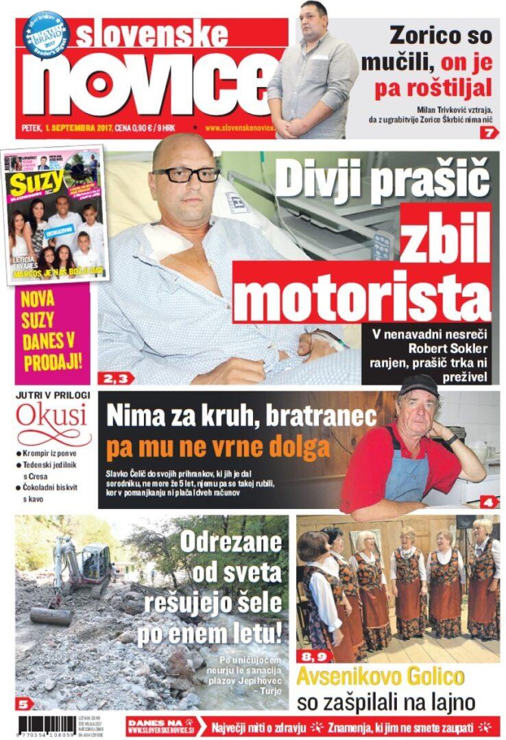 Slovenske novice so najbolj bran časopis.
