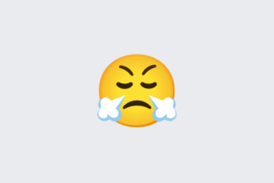 Za zgornji obraz bi hitro rekli, da pomeni nekaj negativnega, torej nekoga, ki je tako jezen, da mu kar para piha iz nosa ali nekoga, ki mu gre nekaj ali nekdo »na živce.«