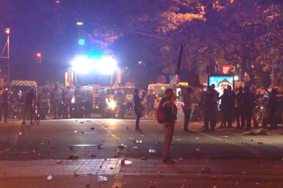 Protest in resnica o odgovornosti za vandalizem