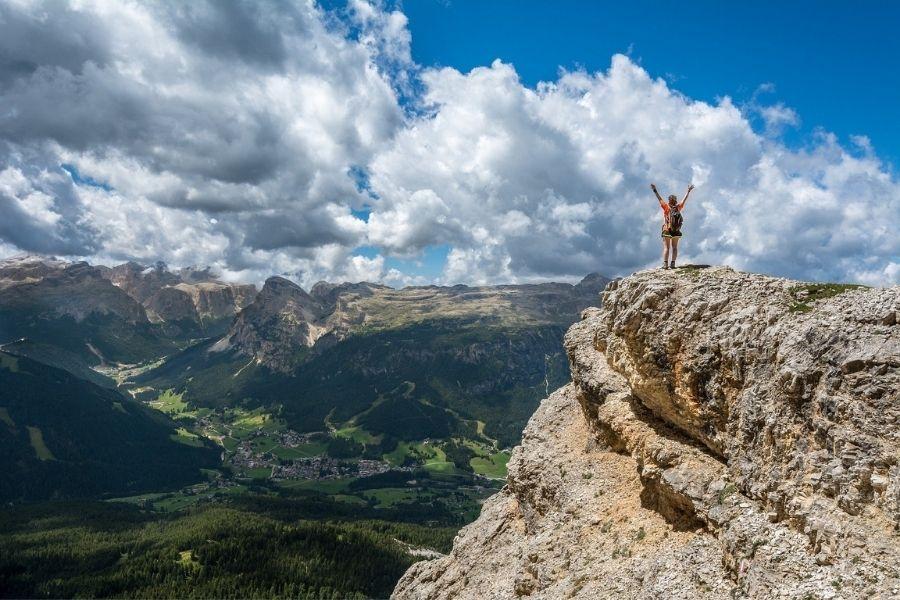 V gore se podajte le dobro pripravljeni in opremljeni
