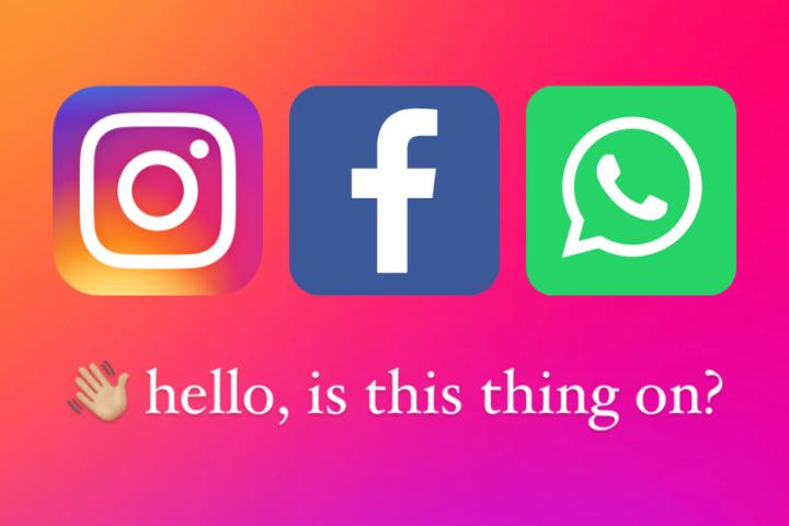 Največji izpad družbenih omrežij do zdaj
